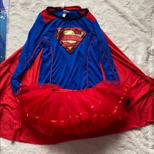 Adorable Girls Superhero Halloween Costume